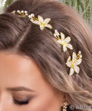 Asymetrický šperk do vlasov  997d83371e3