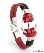 Náramok unisex Red Anchor